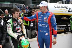 Jack Harvey, Schmidt Peterson Motorsports, und Ethan Ringel, Schmidt Peterson Motorsports, feiern de