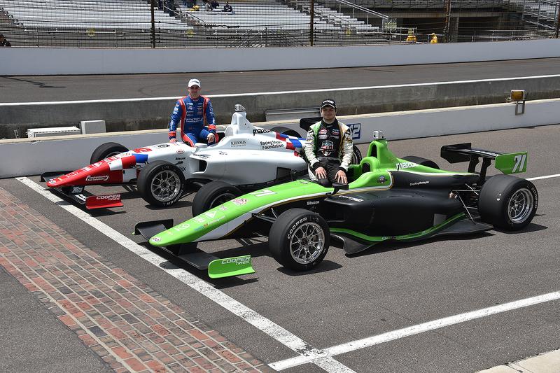 Jack Harvey, Schmidt Peterson Motorsports et Ethan Ringel, Schmidt Peterson Motorsports