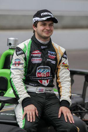Ganador de la pole Ethan Ringel, Sam Schmidt Motorsports