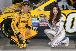 Pole-Sitter: Matt Kenseth, Joe Gibbs Racing, Toyota, mit Miss Coors-Light
