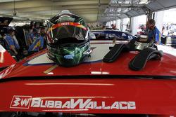 Helm van Darrell Wallace Jr., Roush Fenway Racing Ford