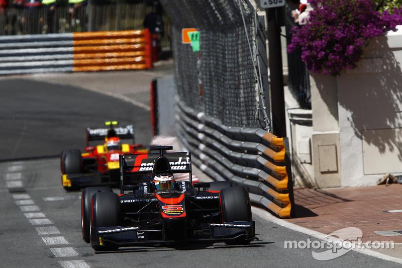 Stoffel Vandoorne, ART Grand Prix, vor Alexander Rossi, Racing Engineering