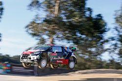 Kris Meeke and Mads Ostberg, Citroën DS3 WRC, Citroën World Rally Team
