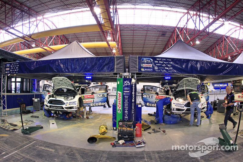 M-Sport Ford WRC територія команди