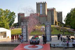 Ceremonial start: Sébastien Ogier and Julien Ingrassia, Volkswagen Polo WRC, Volkswagen Motorsport