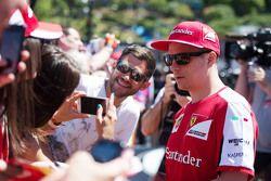 Кими Райкконен, Ferrari с фанатами