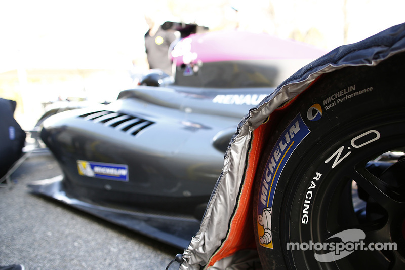 Michelin тестує 17 та 18 inch tyres