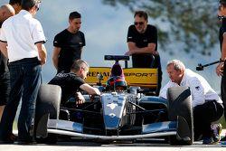 Michelin teste des pneus de 17 et 18