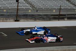Tristan Vautier, Dale Coyne Racing Honda et Jack Hawksworth, A.J. Foyt Enterprises