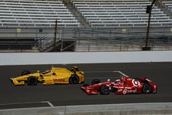Ryan Hunter-Reay, Andretti Autosport Honda et Scott Dixon, Chip Ganassi Racing Chevrolet