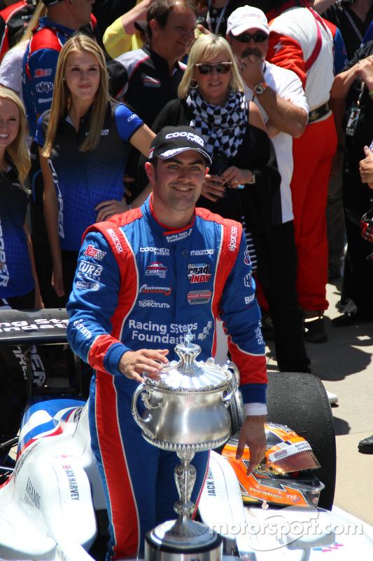 Race winner Jack Harvey, Schmidt Peterson Motorsports