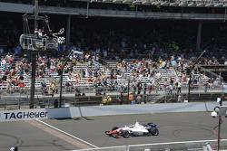 Jack Harvey, Schmidt Peterson Motorsports, beim Überqueren des Brickyards