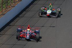 Justin Wilson, Andretti Autosport Honda; Townsend Bell, Dreyer e Reinbold Racing Chevrolet