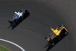 Will Power, Team Penske Chevrolet et Ryan Hunter-Reay, Andretti Autosport Honda