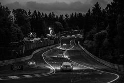 Night racing at Pflanzgarten