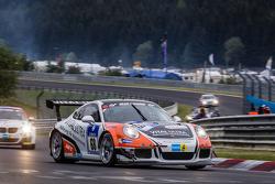 #68 Frikadelli Racing, Porsche GT Cup America: Frank Kräling, Marc Gindorf, Connor de Phillippi, Klaus Abbelen