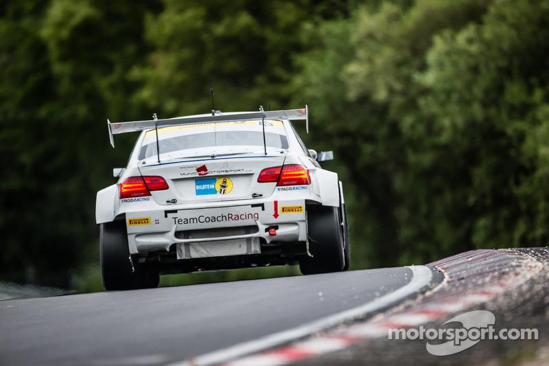 #45 TeamCoach-Racing BMW M3 E92: Philipp Göschel, Dirk Heldmann, Rolf Scheibner, Frank Weishar