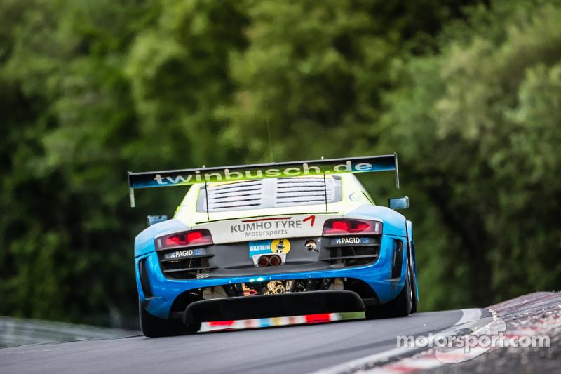 #16 Twin Busch Motorsport, Audi R8 LMS ultra: Marc Busch, Dennis Busch, Christiaan Frankenhout