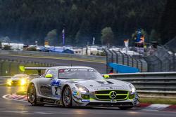 #2 Black Falcon, Mercedes-Benz SLS AMG GT3: Yelmer Buurman, Andreas Simonsen, Adam Christodoulou, Bernd Schneider