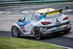 #252 Bliss Autosport Opel Astra OPC Cup: Roland Poulsen, Axel Duffner, Oliver Bliss