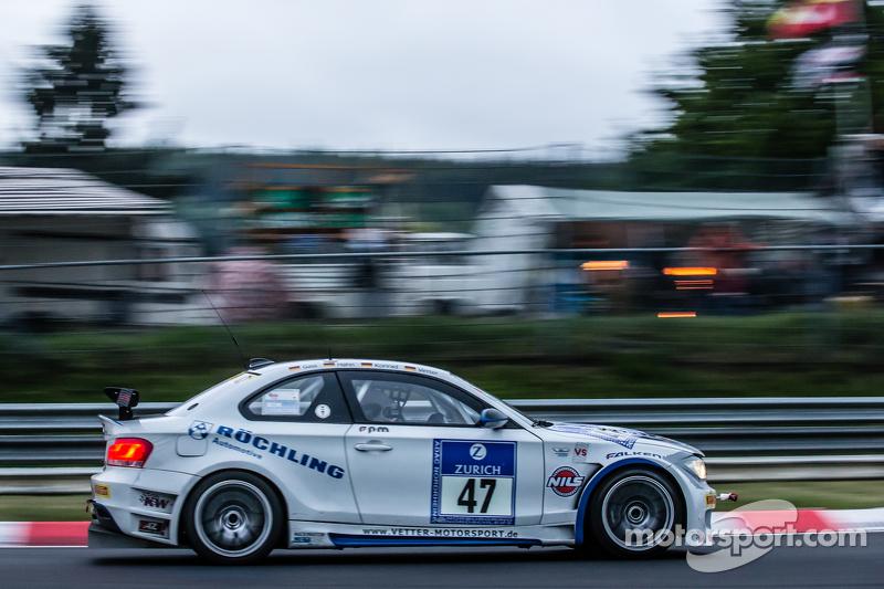 #47 TeamCoach-Racing, BMW E82: Hans-Martin Gass, Heiko Hahn, Roland Konrad, Christian Vetter