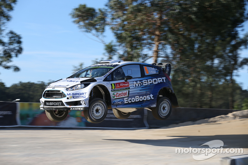 Ott Tanak, dan Molder Raigo, Ford Fiesta R5 M-Sport World Rally Team