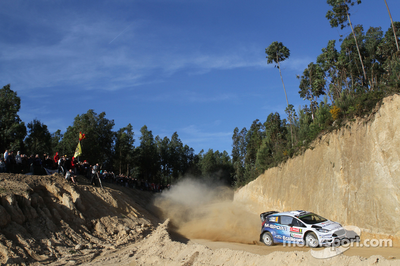 Ott Tänak und Molder Raigo, Ford Fiesta R5, M-Sport World Rally Team
