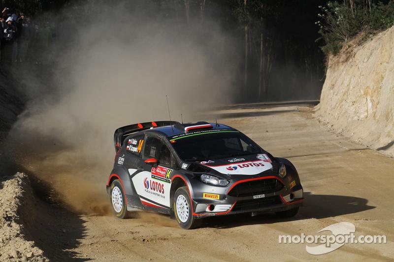 Robert Kubica and Maciej Szczepaniak, Ford Fiesta RS WRC RK M-Sport World Rally Team