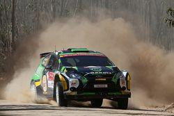Yazeed Al Rajhi en Michal Orr, Ford Fiesta RRC Yazeed Racing