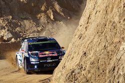 Jari-Matti Latvala and Miikka Anttila, Volkswagen Polo WRC Volkswagen Motorsport
