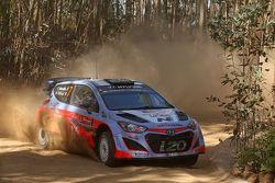 Thierry Neuville e Nicolas Gilsoul, Hyundai i20 WRC Hyundai Motorsport