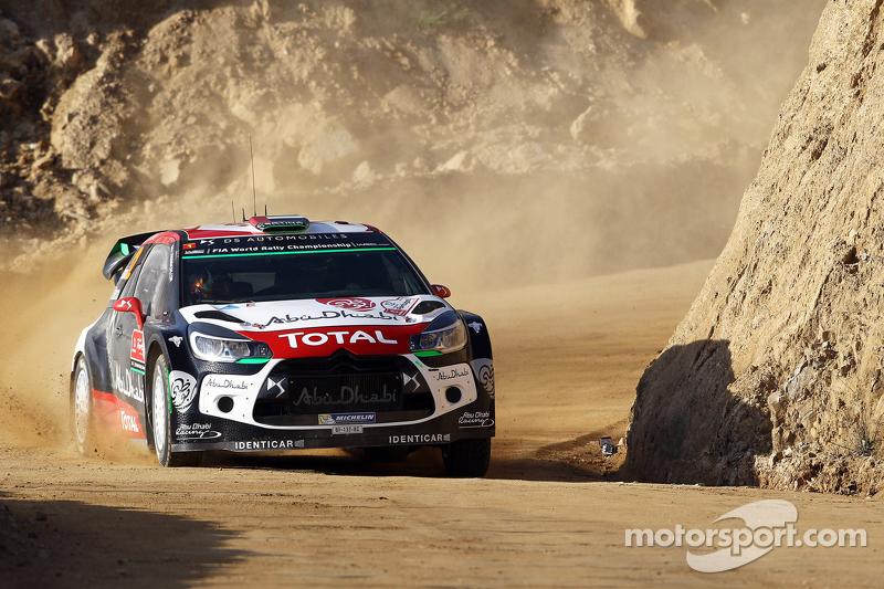 Khalid Al-Qassimi und Chris Patterson, Citroën DS3 WRC, Citroën World Rally Team