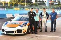 Gui Affonso, Roberto Moreno, Pedro Piquet e Nelson Piquet
