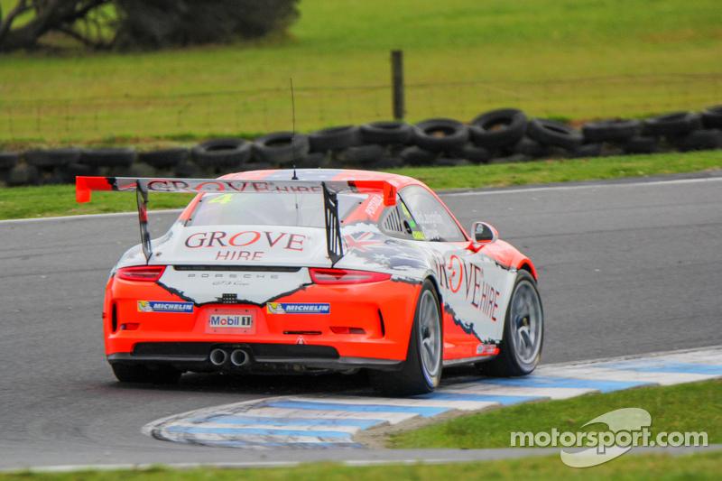 Steven Grove, Scott McLaughlin, Porsche 911 GT3 Cup at Porsche