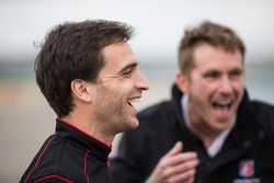Jérôme d'Ambrosio, Dragon Racing y Scott Speed, Andretti Autosport