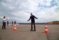 Scott Speed, Andretti Autosport essaie un nouveau moyen de transport
