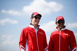 Bruno Senna et Karun Chandhok, Mahindra Racing