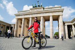 Daniel Abt, Audi Sport Team Abt en la Puerta de Brandenburgo