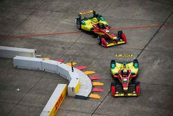 Daniel Abt et Lucas di Grassi, Audi Sport Team Abt