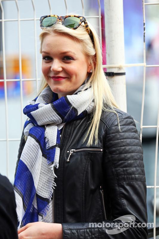 Valtteri Bottas'ın kız arkadaşı Emilia Pikkarainen