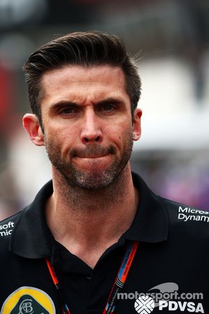 Matthew Carter, Lotus F1 Team CEO