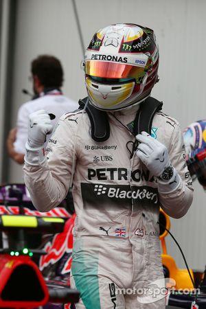 Поул Льюиса Хэмилтона, Mercedes AMG F1