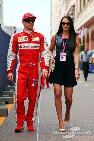 Кими Райкконен, Ferrari со своей девушкой Минтту Виртанен
