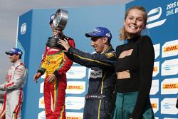 Il terzo classificato Sébastien Buemi, e.dams-Renault