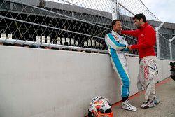 Vitantonio Liuzzi, Trulli, und Jaime Alguersuari, Virgin Racing