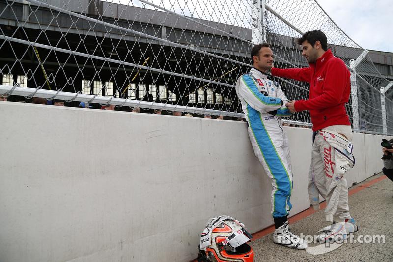 Vitantonio Liuzzi, y Jaime Alguersuari, Virgin Racing