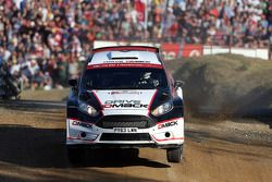 Sander Parn und James Morgan, Ford Fiesta R5