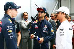 Даниил Квят, Red Bull Racing с Даниэлем Риккардо, Red Bull Racing и Нико Росбергом, Mercedes AMG F1