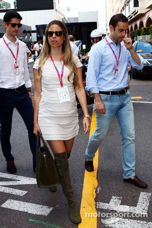 Vivian Rosberg, vrouw van Nico Rosberg, Mercedes AMG F1