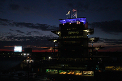 Sunrise at the Indianapolis Motor Speedway on race day